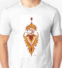 Transformation's Flame on White Unisex T-Shirt