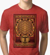 The Revolution of Consciousness | Vintage Propaganda Poster Tri-blend T-Shirt