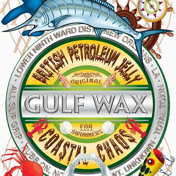 Gulf Wax by British Petroleum by bear77