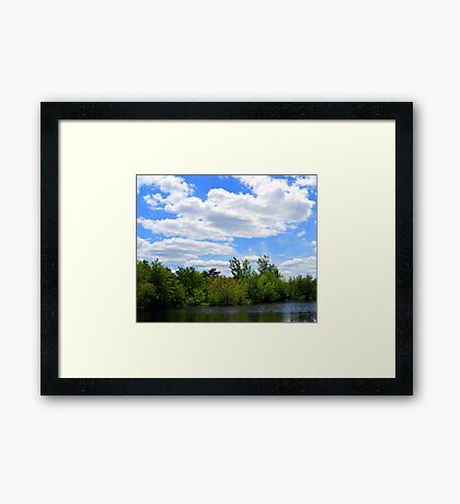 My Dream Spot Framed Print