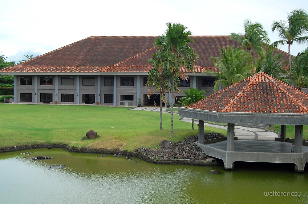 Mt. Malarayat Golf Course Function Hall by walterericsy