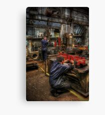 Metal Works Canvas Print