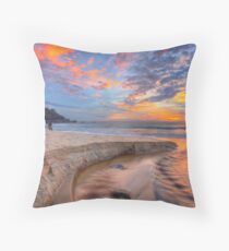 Sunrise at Sunshine Beach Throw Pillow