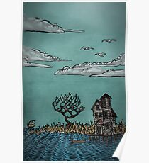 On Stilts by Ordovich Poster