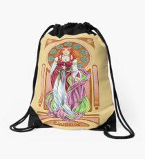 Eleanor of Aquitaine Drawstring Bag