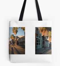 Abbot Kinney Boulevard, Venice, California, USA...narrowed. Tasche