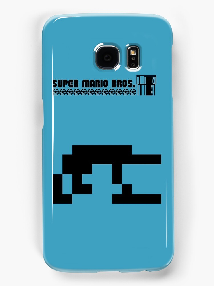 Minimal Mario - iPhone Case by Charles Caldwell