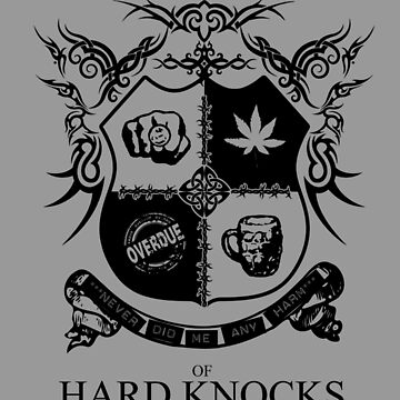 University of Hard Knocks (black) by ReverendBJ
