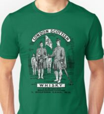 London Scottish Whisky Unisex T-Shirt