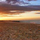 Waxham Beach, Norfolk, East Anglia, UK by Mark Snelling