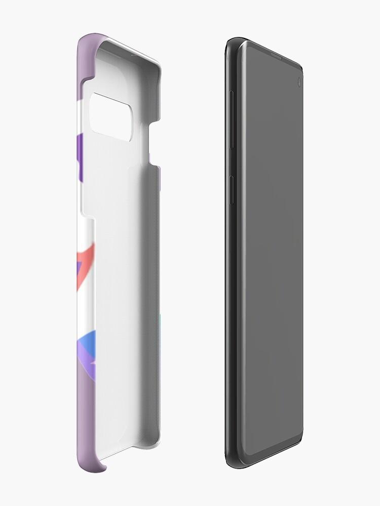 Alternative Ansicht von Kitty Abschnitt Rainbow Miraculous Ladybug Hülle & Klebefolie für Samsung Galaxy