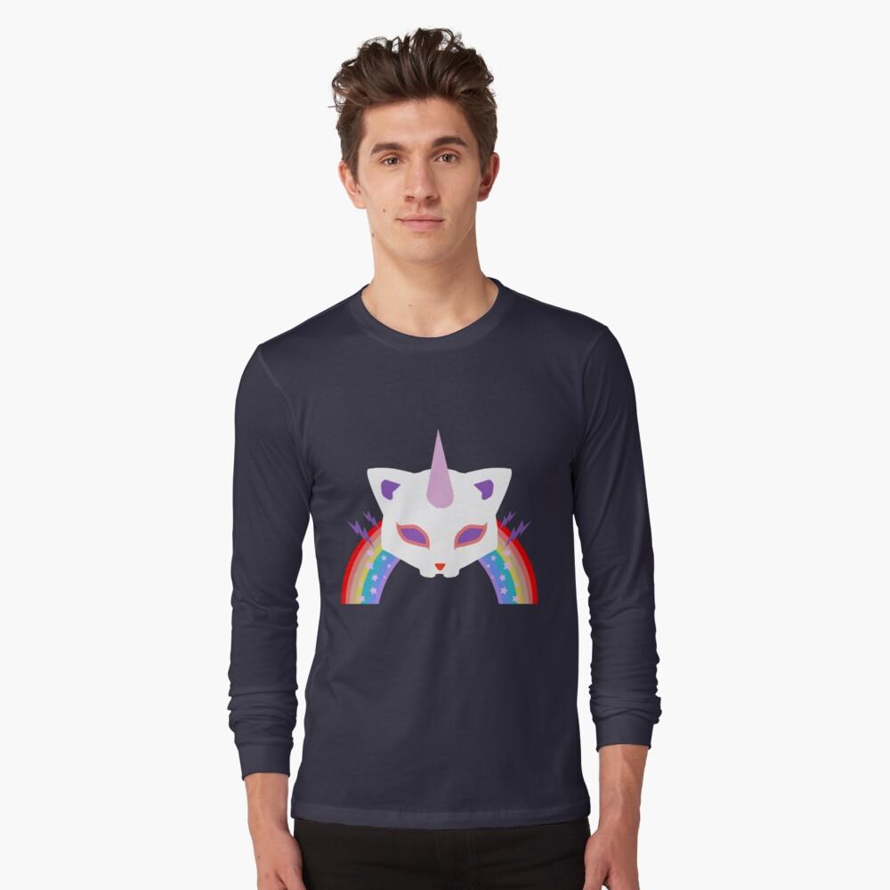 Kitty Abschnitt Rainbow Miraculous Ladybug Langarmshirt
