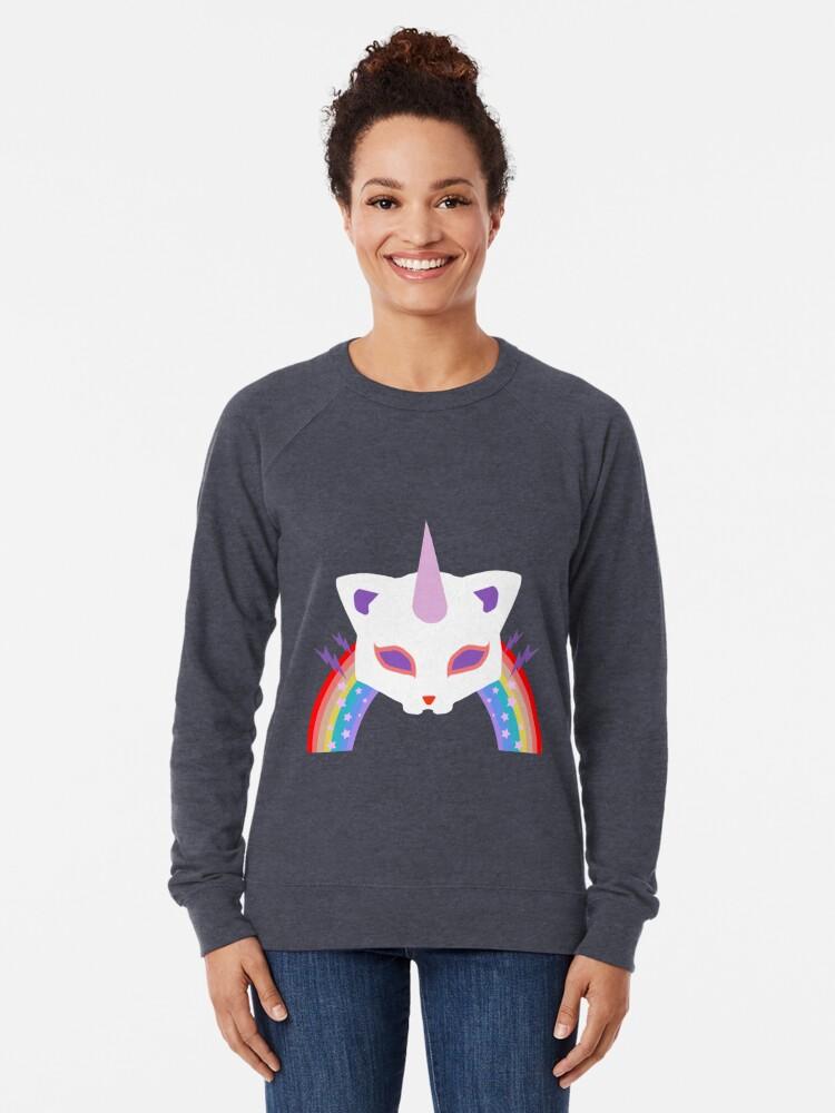 Alternative Ansicht von Kitty Abschnitt Rainbow Miraculous Ladybug Leichter Pullover