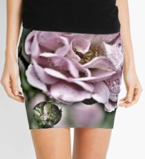 pink rose3 Mini Skirt