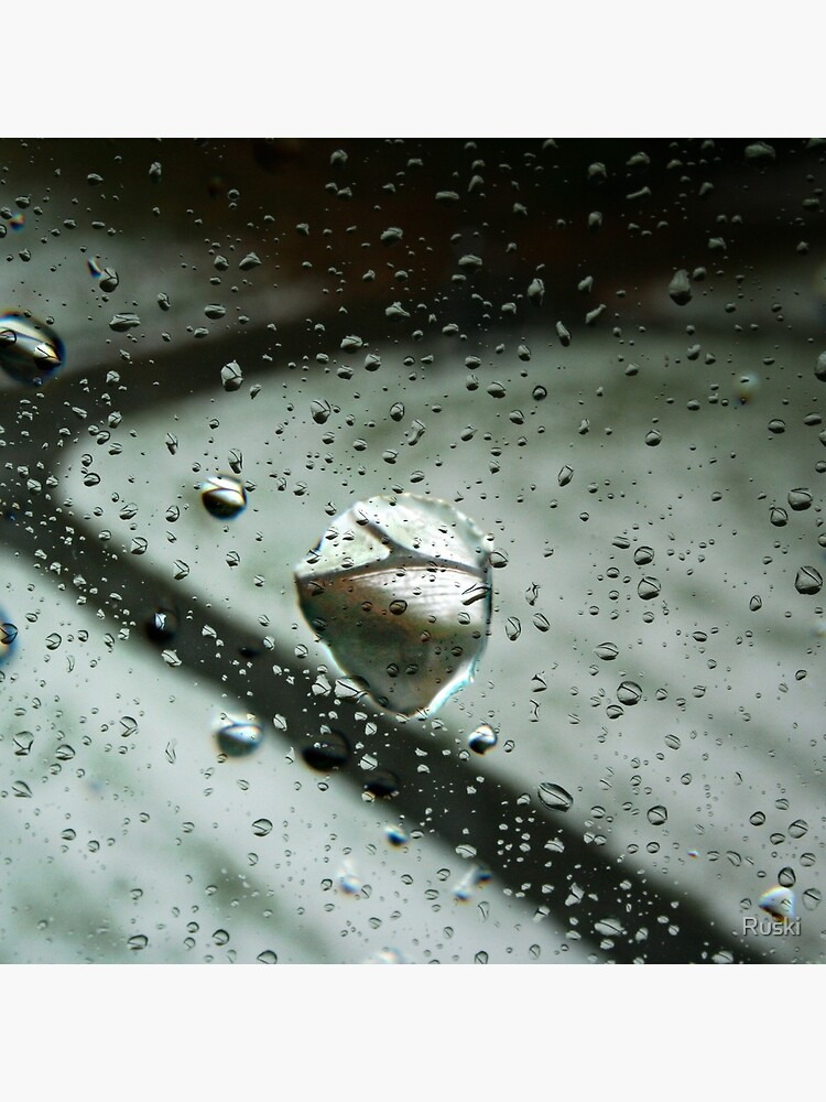 Raindrop Refractions by Ruski