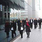 Street Reflections: Southbank London by DonDavisUK