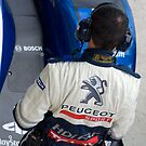 Peugeot Sport team by Yves Roumazeilles