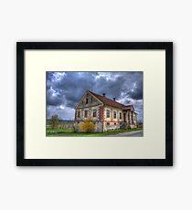 Old Slovenian house Framed Print