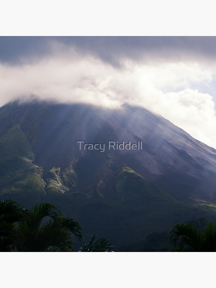Arenal Volcano In the Mist by taos