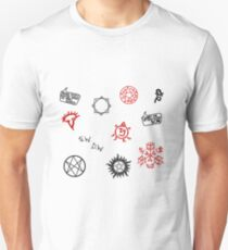 Supernatural Sigils and Symbols Unisex T-Shirt