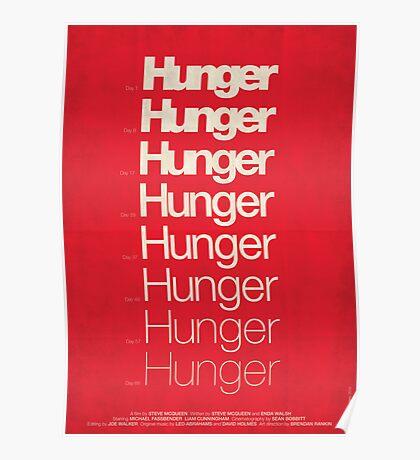 'Hunger' film poster Poster