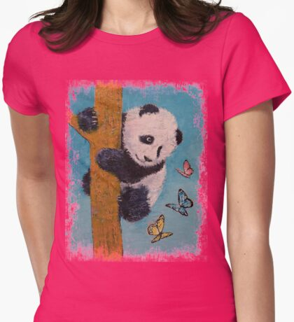 Panda Butterflies T-Shirt