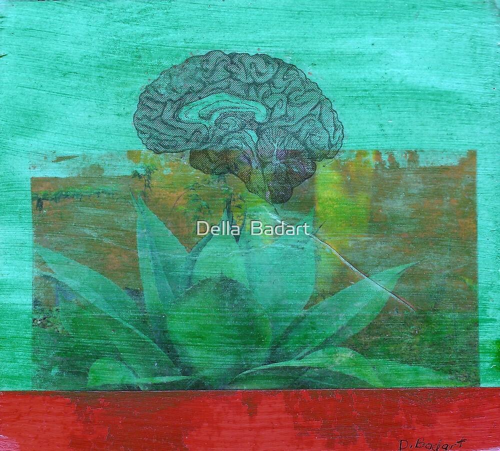 cerebral agave by Della  Badart