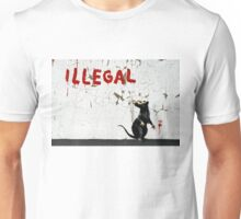 Fitzrovia Rat by Banksy Unisex T-Shirt