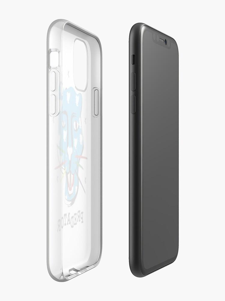 coque iphone pull and bear - Coque iPhone «PRÉDATEUR», par medvedevprint