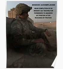 Mission Accomplished Poster