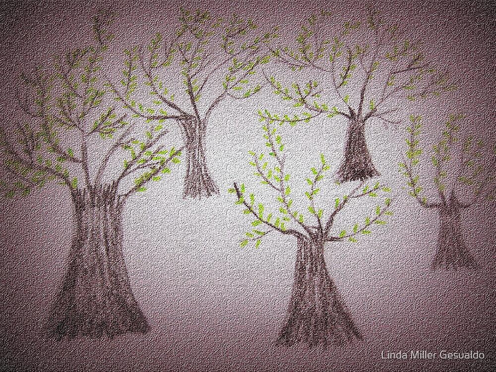 Tree's by Linda Miller Gesualdo