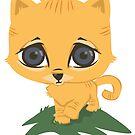 Tabby Kitten by Amber Witt