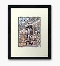 St Pancras : Meeting Place Framed Print