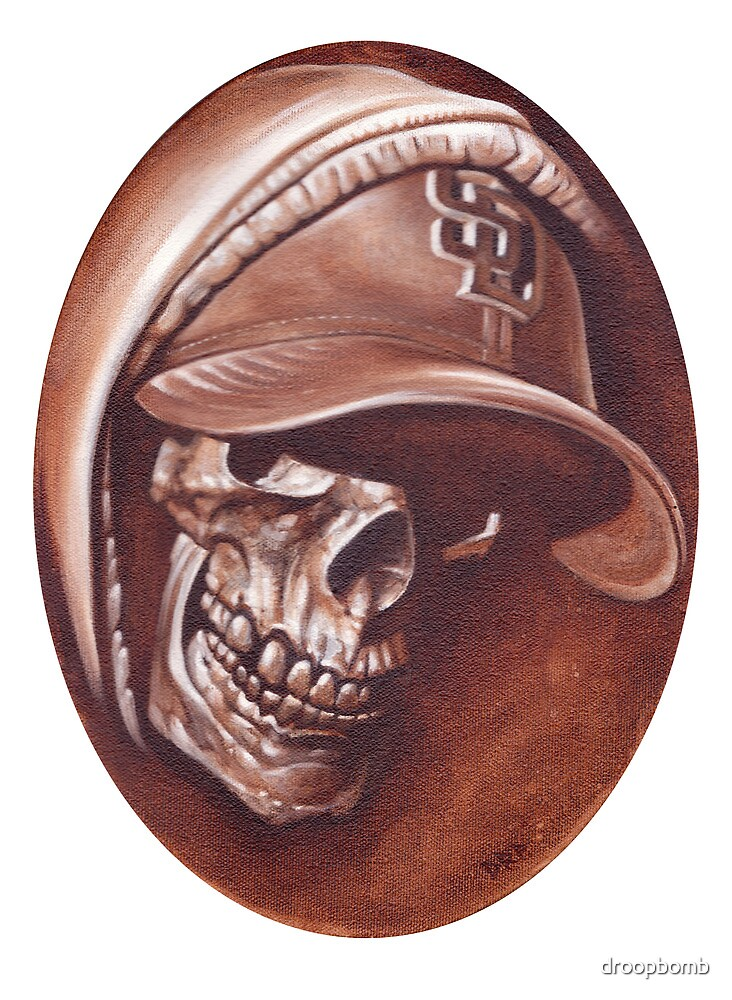 skull and cap by droopbomb
