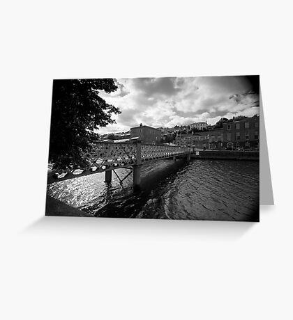 A Bridge, A River Greeting Card