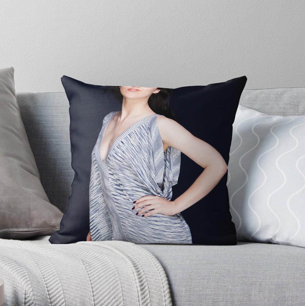 Lisa 1 Throw Pillow