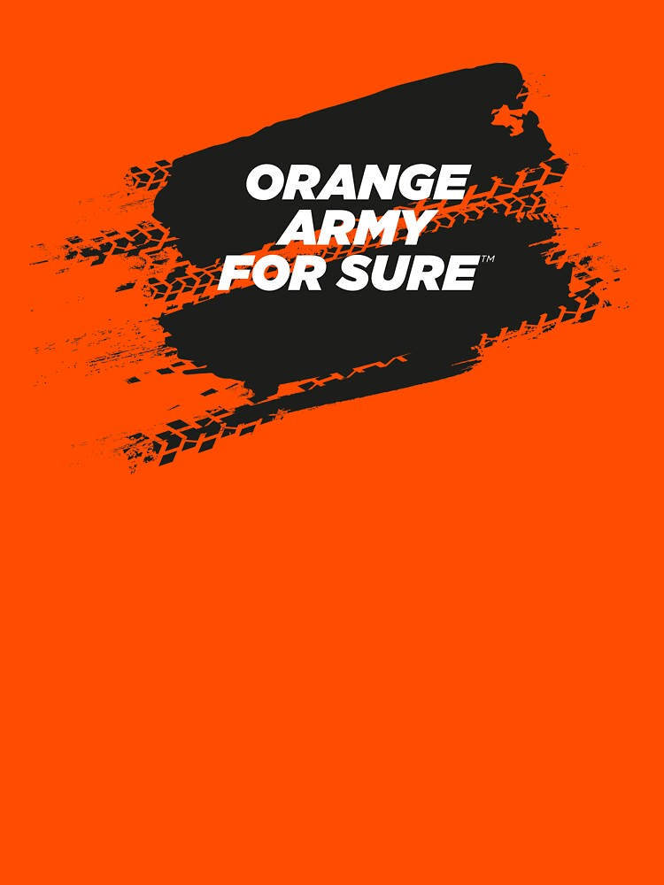 ORANGE ARMY For Sure Motorsport T-Shirt by ForSure