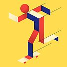 Bauhaus-Skater von Robert Farkas