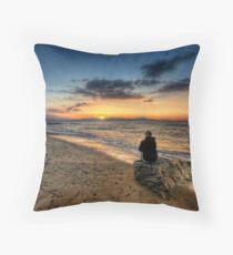 Crete - Sunset II Throw Pillow