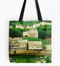 Clovelly 2 - An English Fishing Village  Tote Bag