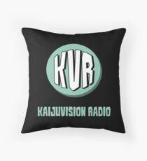 KVR Logo Throw Pillow