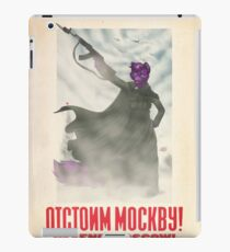 Defend Moscow! iPad Case/Skin