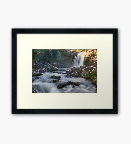 Tawhai falls 3 Framed Print