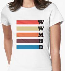 What Would Mariska Hargitay Do? Women's Fitted T-Shirt