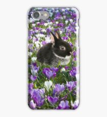 Easter Bunny in the Spring iPhone Case/Skin