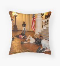 Show your best side!! Throw Pillow