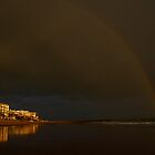 rainbow over Rota by fototaker
