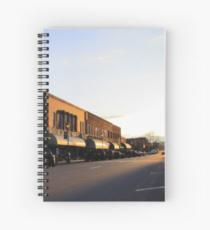 Street That Rides Into The Sunset Spiral Notebook