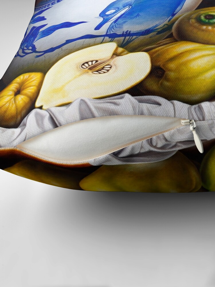 Alternate view of Quinces Throw Pillow