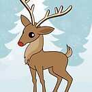 Christmas Reindeer by mstiv